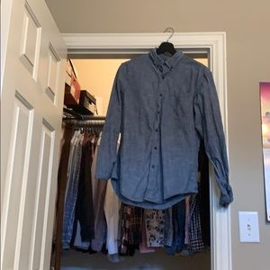 Banana Republic chambray shirt slim fit